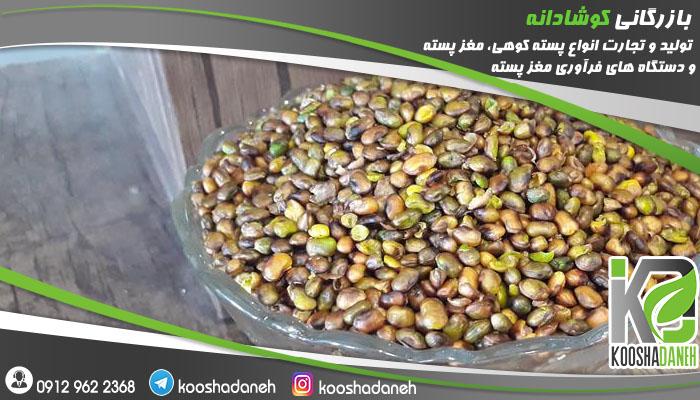 قیمت بنه مغز شده در استان کرمانشاه