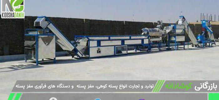 بازار بین المللی دستگاه بنه شکن ایران